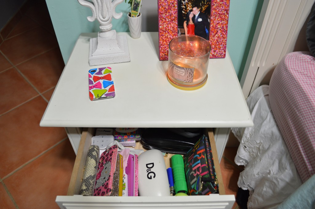 Quick Fix – Night Stand Organization