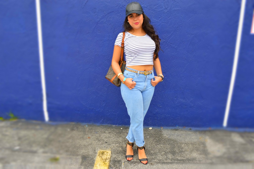 how to style high waist jeans Archives - Let's Fall in Love
