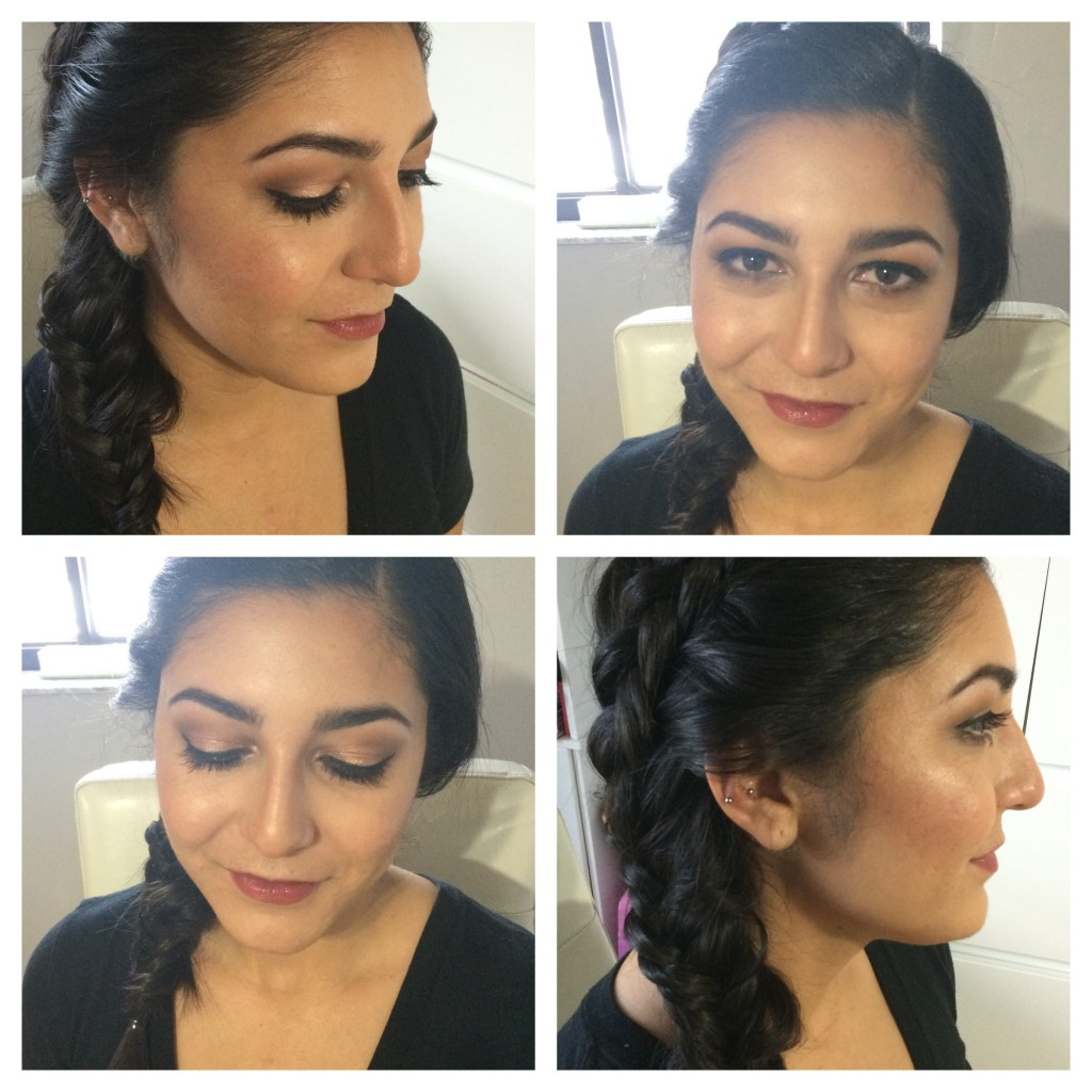 Bridesmaid Hair & Makeup