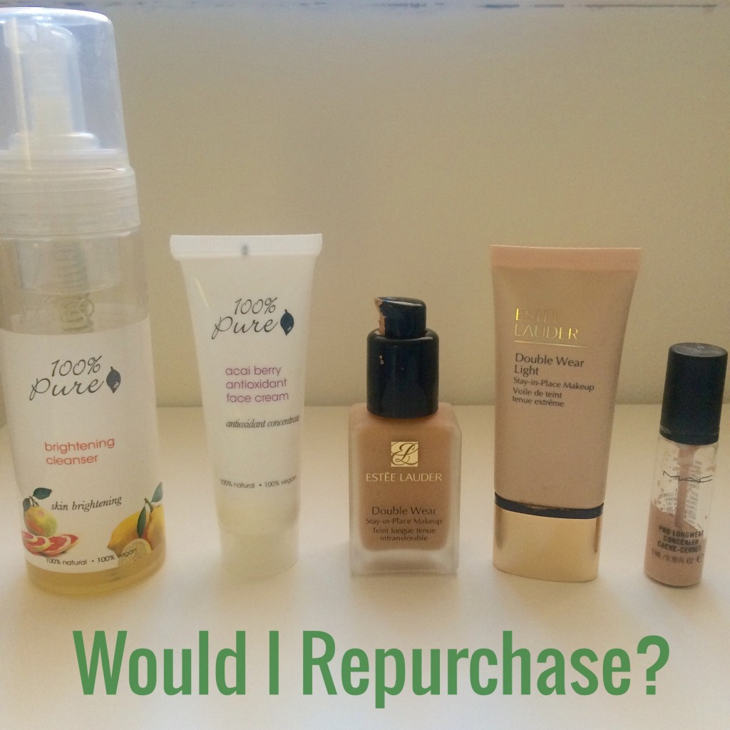 5 Products – Would I Repurchase?