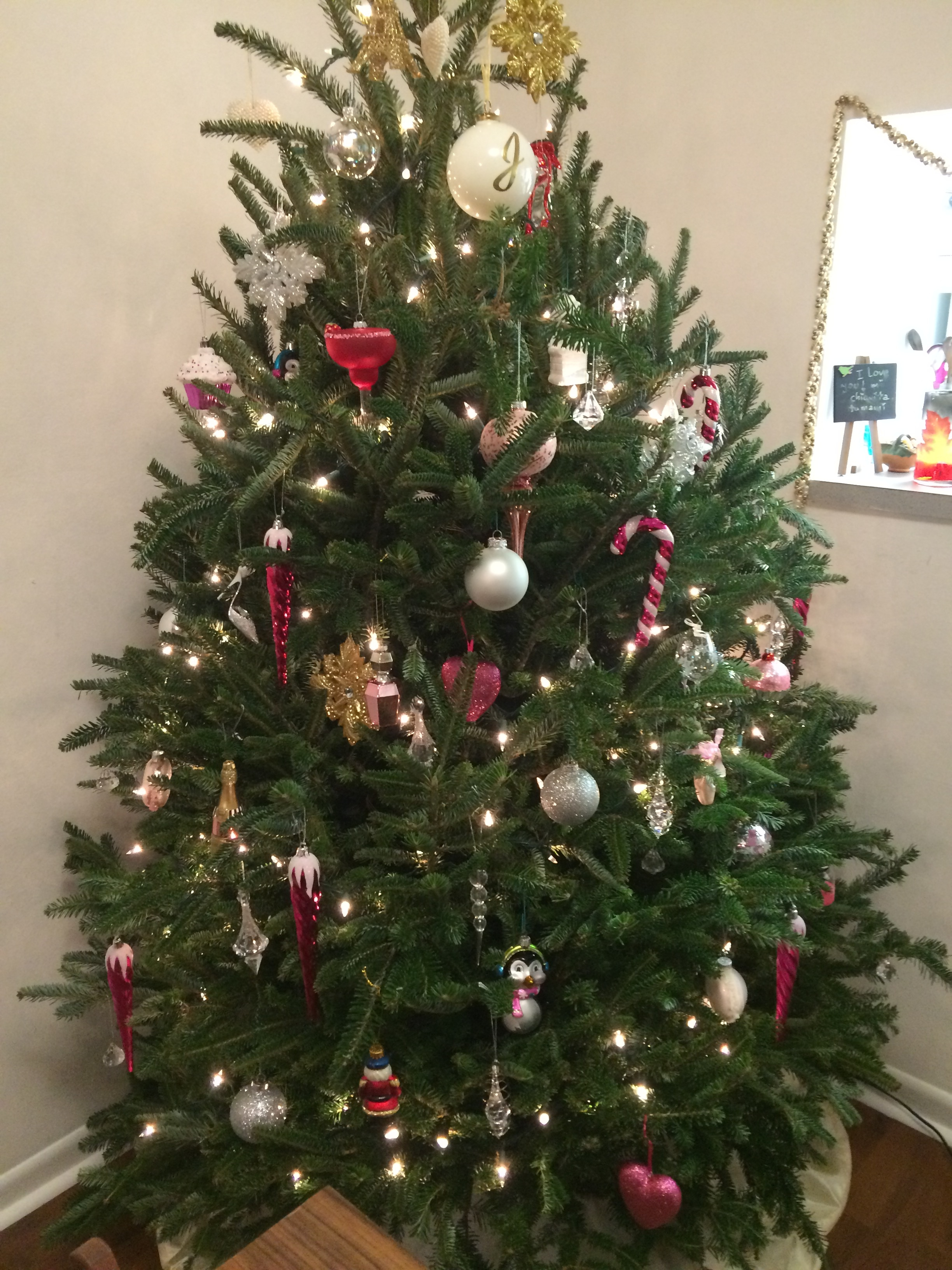 a very girly christmas tree lets fall in love blog - Nice Christmas Trees