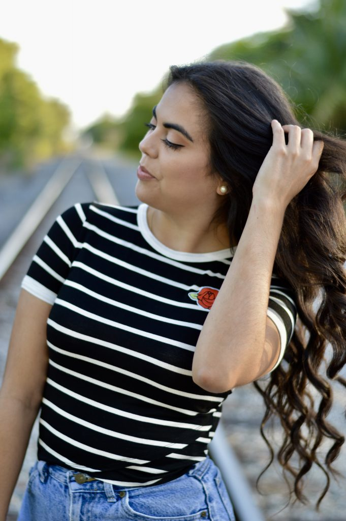High Waisted Shorts - Let's Fall in Love Blog