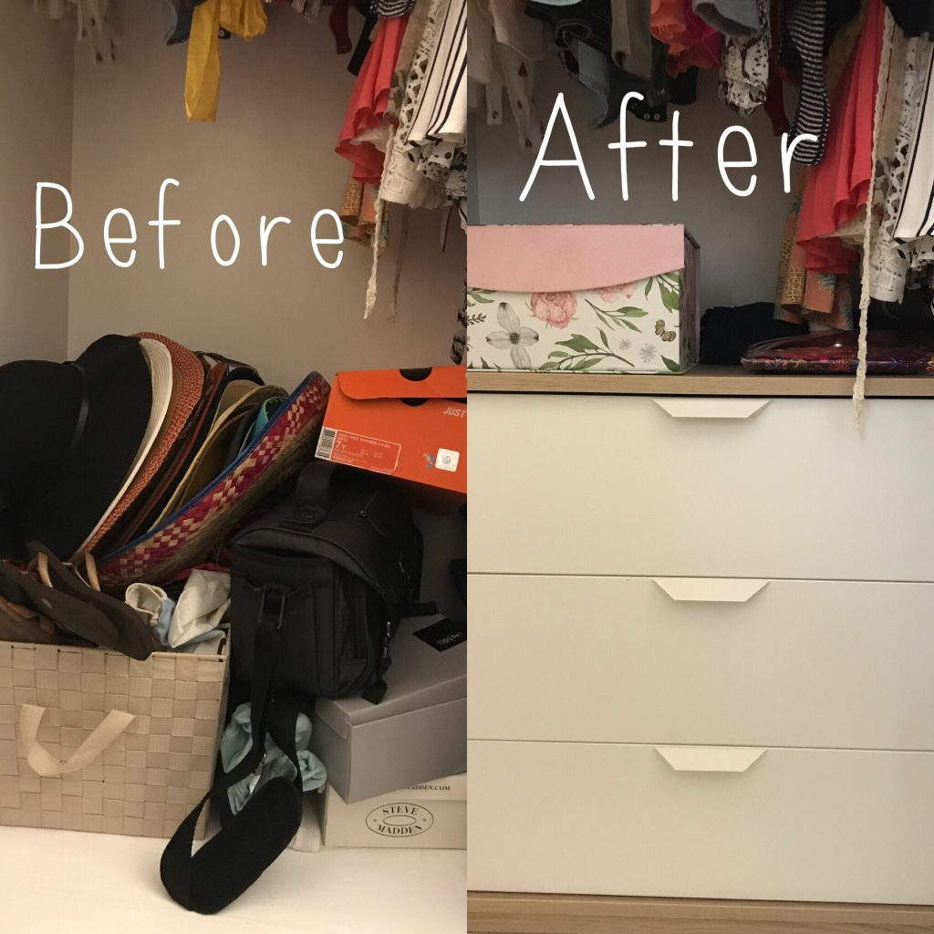 Love Organizing: Closet Drawers