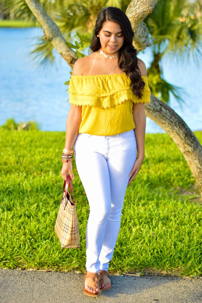 Off the Shoulder - Let's Fall in Love Blog