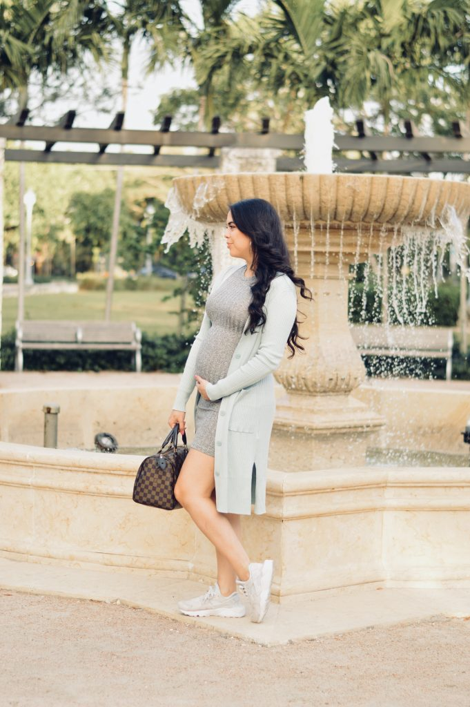 Minty Cardigan - Let's Fall in Love Blog